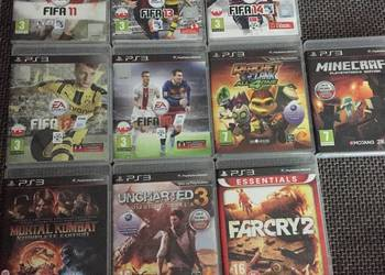 Sprzedam 10 gier na ps3 stan idealny