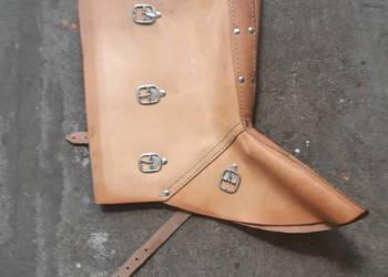 Ochraniacze spawalnicze skórzane na buty