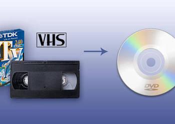 Przegrywanie (kopiowanie) kaset VIDEO (VHS) na płyty DVD