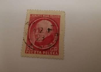 Znaczek I kongres nauki polskiej