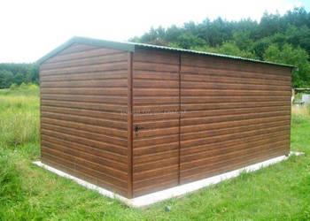 Domek ogrodowy garaż 3x5 drewnopodobny altana blaszana