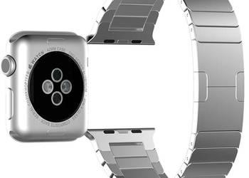 Piękna bransoleta do Apple Watch - ideał - srebrna - HIT