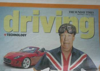 DRIVING TECHNOLOGY - THE SUNDAY TIMES
