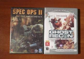 Zestaw 2 gier wojennych - Spec Ops II /Ghost Recon Advanced