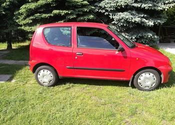 Fiat Seicento 0.9 2000r. PIERWSZY WŁAŚCICIEL,GARAŻOWANY