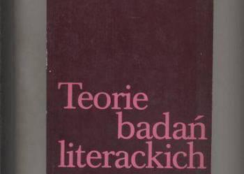 Teorie badań literackich