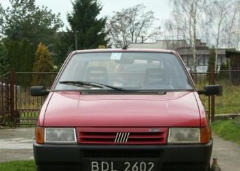 Fiata Uno niepełnosprawnego AUTO ZASTĘPCZE