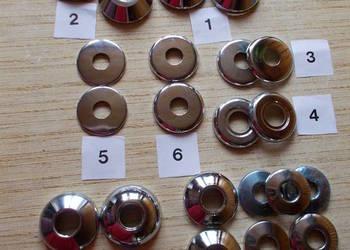 Rozety na baterie różnego rodzaju