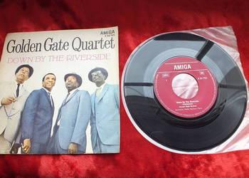 Płyta winylowa szelakowa Golden Gate Quartet Blues