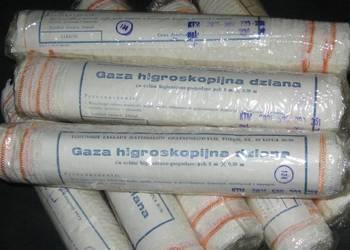 Gaza higroskopijna dziana w rolkach 5m x 30cm