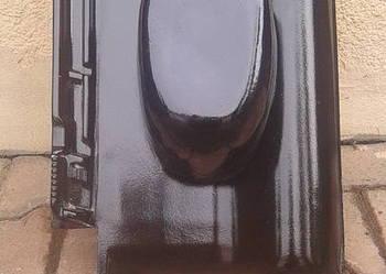 Kominek wentylacyjny Creaton Titania czarna glazura CERABAU