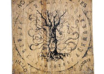 Ouija prezent spirytyzm wywoływanie duchów halloween gra pla