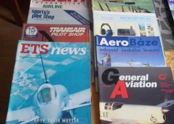 Lotnicze czasopisma zagraniczne - 10 sztuk