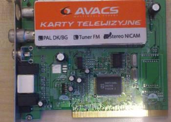KARTA TELEWIZYJNA TUNER Avacs Smart TV