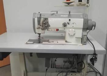 Maszyna do szycia PFAFF transport potrójny tapicerka automat