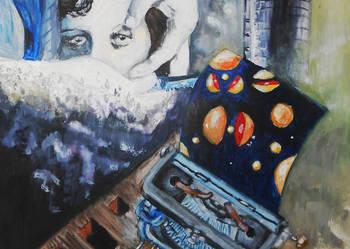 Pies andaluzyjski surrealizm obraz Salvador Dali Bunuel