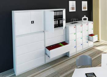 sejfy, szafy na akta spełniają wymogi RODO, meble metalowe