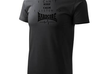Koszulka HARDCORE Cant Keep Calm Listen Gabber T-Shirt