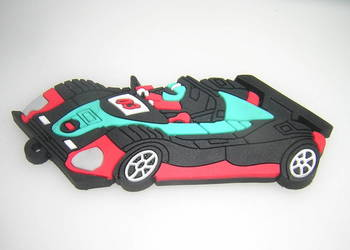 Samochód wyścigowy rajdowy magnez na lodówkę