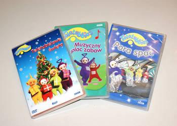 TELETUBISIE – 3 filmy – 3 x DVD