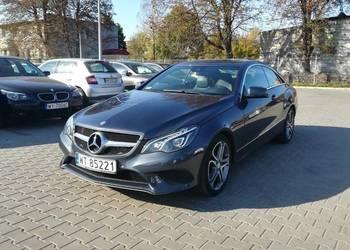 Mercedes E250 Coupe 211KM, automat, navi, LED. bezwypadkowy