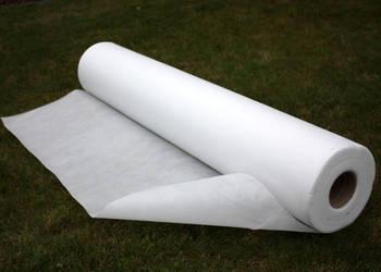 Biała Agrowłóknina 50gUV okryciowa 1,1x5m RÓŻNE DŁUGOŚCI