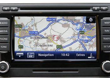 Aktualizacja map EU 2018 VW SKODA SEAT RNS 510/810,