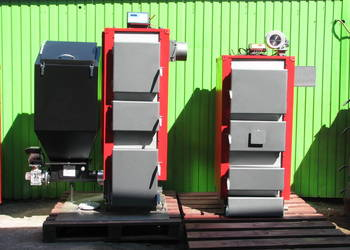Kocioł Piec 25 kW do 200m2 na ekogroszek miał pellet KWM-SGR