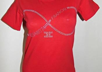 Bluzka z logo Elisabetta Franchi