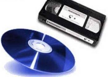 Przegrywanie VHS; VHS-C na DVD od 15zł/szt !!