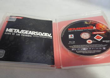 LOMBARDOMAT Gra Metal Gear Solid 4 Playstation 3