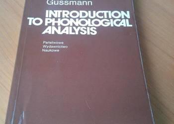 Introduction to phonological analysis / Edmund Gussmann
