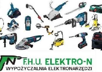 Wypożyczalnia wynajem elektronarzędzi Elektro-n Katowice