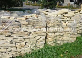 Piaskowiec Kamień Naturalny Dzikówka Na Ogrodzenia Murowy