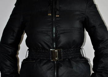 ZARA WOMAN zimowa kurtka puchowa granatowa 38 / M NOWA
