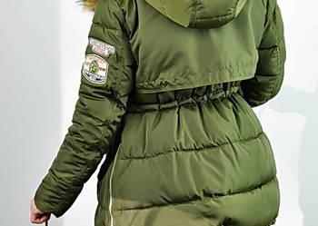 Kurtka Parka Jenot Militarna Asymetryczna #111 FashionAvenue
