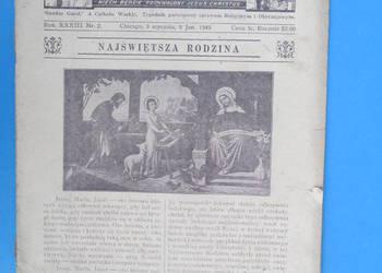 12. Gość Niedzielny - Rok Wydania 1949. - Bezpłatna wysyłka.