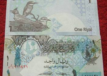 QATAR 1 RIYAL Kolekcjonerski Banknot - 1 sztuka UNC