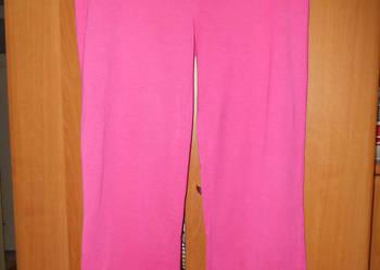 Spodnie do spania od piżamy  rozm.42-44 amarantowe