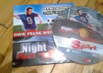 """Gry na PC""""menadżer piłkarski 2004 / 2005 , night race"""""""