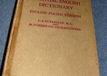 the essential english dictionary