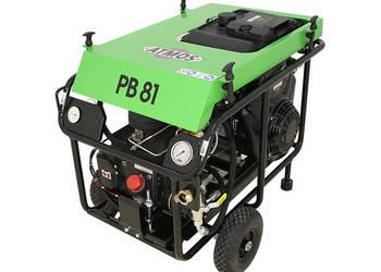 Kompresor sprężarka śrubowa ATMOS PB81 kret, wdmuchiwarka