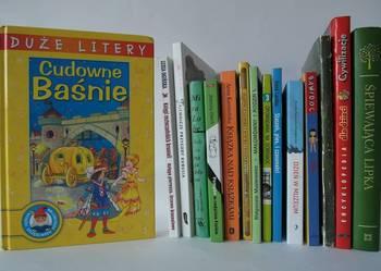 Cudowne Baśnie DUŻE LITERY Książki szczęśliwego dzieciństwa