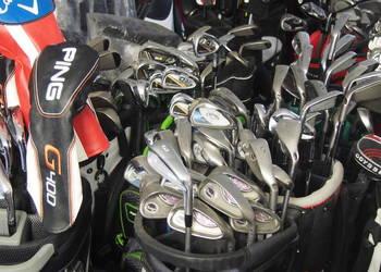 Kije golfowe - kije do golfa - zestawy ,torby, wózki - dobre