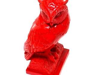 Figurka sowy, Rzeźba Sowa na prezent  dla absolwenta