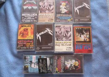 Kaseta kasety Bon Jovi Metallica Sting