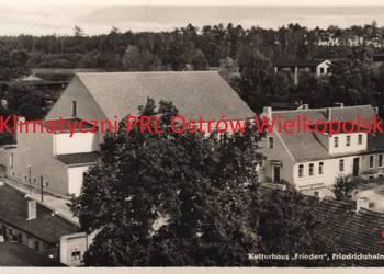 Pocztówka Post card Berlin Friedrichshain Kulturhaus Frieden