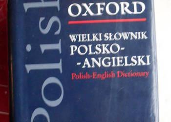 Wielki słownik polsko - angielski PWN OXFORD