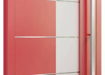 Nowoczesne drzwi zewnętrzne na zamówienie, aluminiowe pcv