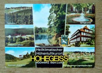 HOHEGEISS - UZDROWISKO I OŚRODEK SPORTÓW W GÓRACH HARZ